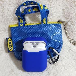 NIB IKEA Mini Bag Silicone Protective Airpod Case